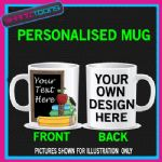 TEACHERS SCHOOL PUPIL PERSONALISED COFFEE MUG GIFT 005
